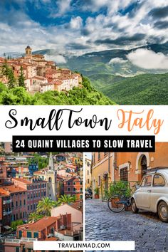This guide to the 24 Most Enchanting Small Towns in Italy are just what slow travelers are looking for, tailor made for those travelers looking to explore Italy's small towns, villages, and borgos and experience authentic life in Italy! Italian small towns | off the beaten path Italy | Italy villages