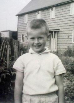 My dad as a young boy. An Inspiration!