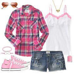 Cute Summer Camp Fashion
