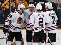 12/6/14 Hawks beat Nashville 3-1 to become 18-8-1 and 1st in Central Division!