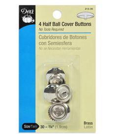 Dritz Craft Cover Button Kit Size 36   Artigianato e Bottoni