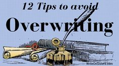 Overwriting is a common problem for new writers. Even experienced writers can fall victim to the issue. It's something, as a reader, that drives me nuts. It's also something I'm guilty of needing f…