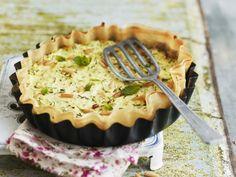 Probieren Sie die leckere Ricotta-Zucchini-Tarte mit Minze von EAT SMARTER!