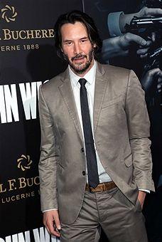 """Színész Keanu Reeves részt vesz a premierje Summit Entertainment 'John Wick: Második fejezet """"A Arclight Hollywood január 30-án, 2017, Hollywood, Kalifornia."""