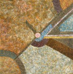 """""""Bush Hen Dreaming"""" by Abie Loy Kemarre 121cm x 122cm $9,900  http://www.aboriginalartstore.com.au/artists/abie-loy-kemarre/bush-hen-dreaming-1/"""