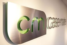 Custom Office design corporate logo sign case-mate  , corporate office look, we can design your office space