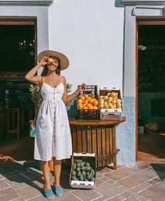 Vacation outfits, summer vacation outfits, vacation style, europe outfits s Mexico Vacation Outfits, Cute Vacation Outfits, Vacation Style, Cute Summer Outfits, Cute Outfits, Travel Style, Summer Holiday Outfits, Europe Outfits Summer, Vacation Fashion
