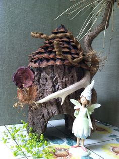 a great list of plants that work well in a fairy garden and fairy garden supply sites