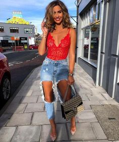 Lace Bodysuit Outfit Gallery red lace plunge bodysuit paola in 2019 bodysuit outfit Lace Bodysuit Outfit. Here is Lace Bodysuit Outfit Gallery for you. Lace Bodysuit Outfit pink lace plunge bodysuit paola in 2019 pink lace. Bodysuit Outfit Jeans, Red Lace Bodysuit, Bodysuit Outfit Party, Bodysuit Fashion, Bild Outfits, Mode Outfits, Fashion Outfits, Fashion Ideas, Club Outfits For Women
