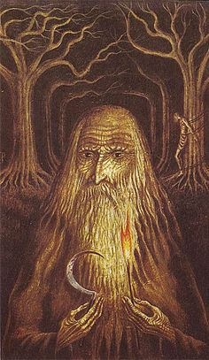 In 1971, artist Jan Parker, who'd been a sketch artist on the set of 2001: A Space Odyssey, executed a series of macabre illustrations for Witchcraft and Black Magic by the prolific occult author Peter Haining.