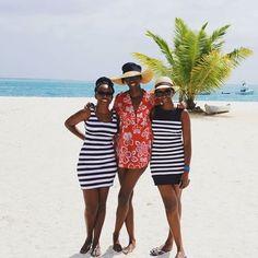 Girlfriends. @silviatonui // Zanzibar. #travelnoire #zanzibar