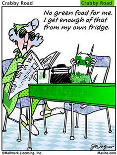 maxine on st patrick's day | ... by bozo funny at 9 49 am labels humor joke maxine st patrick s day