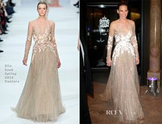 Hilary Swank In Elie Saab Couture - Vienna Opera Ball