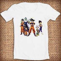 Dragon Ball z character shirt design