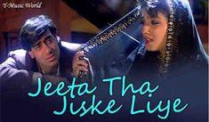 Jeeta Tha Jiske Liye | Kumar Sanu Alka Yagnik