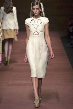 delicate. Could double as #weddingdress {Carven #Spring2013 Ready-to-Wear Collection}