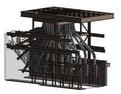 Luckett & Farley structural engineers used #3D laser scan  to construct a Building Information Model or #BIM for a project.