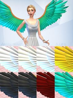 Sims 4 CC's - The Best: Wings by Ajjeil