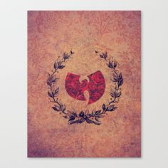 Vintage Wu-Tang Clan (ANALOG ZINE) Stretched Canvas by Alice M - $85.00