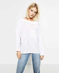 Image 1 of OVERSIZED SHIRT from Zara