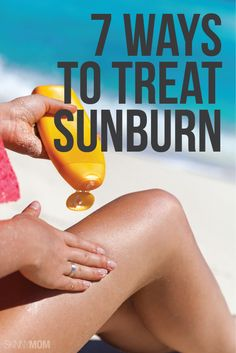 Treat your sunburn the RIGHT way!
