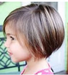 Best And Cute Bob Haircuts For Kids Pixie Bob Pixies And Girl - Hairstyle girl kid