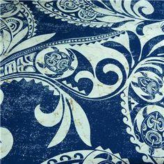 hawaiian sea turtle quilt patterns   ... Fabric Traditional Honu (Turtle) Hawaiian Print Navy & Cream BTY