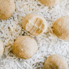 pcos desserts - lemon balls Lemon Desserts, Lemon Recipes, Love Dairy, Craving Sweets, Low Glycemic Diet, Coconut Protein, Healthy Balanced Diet, Meal Plans To Lose Weight, Pcos Diet