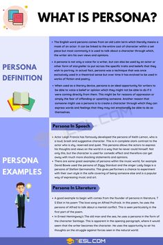 Persona English Tips, English Words, Learn English, Grammar Definition, Character Personality Traits, Persona Examples, Comedy Tv Shows, Feelings And Emotions, Test Prep