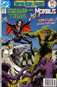 Super-Team Family: The Lost Issues!: Swamp Thing and Morbius