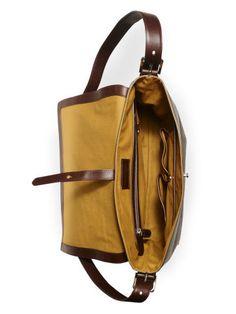 Quilted Calfskin Messenger - Ralph Lauren Briefcases & Folios…