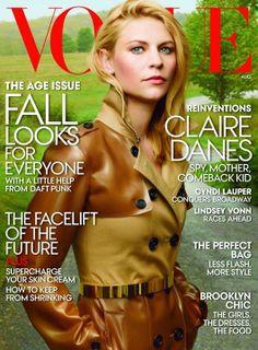 Photoshoot Claire Danes pour Homeland
