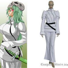 Bleach Neliel Tu Oderschvank Uniform Halloween Cosplay Costume