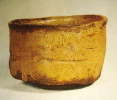 Teabowl (chawan) of Yellow Seto, Stoneware. Japan, Momoyama Period, 1568-1615 CE.
