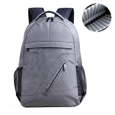 5660725e1f04 16 Inch Nylon Backpack Business Casual Airbag Shockproof Waterproof Laptop  Bag For Men Women