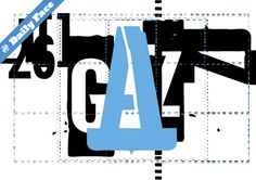 The T26 Daily Face. Gazz reduced from $49 to $37. http://www.t26.com/fonts/456-Gazz