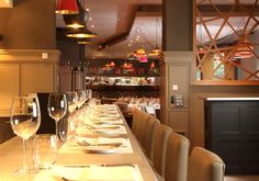 Classic Modern Bistro | 21 interior design by Ward Robinson | Newcastle upon Tyne | Restuarant Design | Pet Lamp lighting