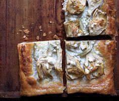 Artichoke and Feta Tarts Recipe | Epicurious.com