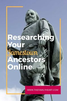 10 Resources for Researching Jamestown Ancestors Free Genealogy Sites, Genealogy Research, Historical Images, Historical Society, Ancestor Search, Find My Ancestors, British North America, History Activities, Family History