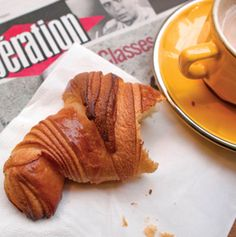 Paris's Best Croissants: in my neighborhood, the Blé Sucré is the best on Lebovitz's list. the croissants are too buttery for my taste Croissants, Paris Travel, France Travel, Paris Eats, Travel And Leisure, Delish, David Lebovitz, Brunch, Food And Drink