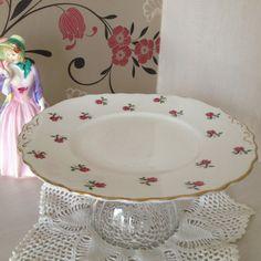 Vintage Colclough Fine Bone China Cake by florenceforeverfinds