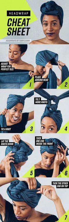 Idée d'attaché de foulard