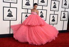 Rihanna.  Grammy's 2015