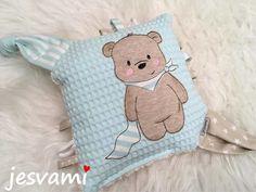 Baby E, Machine Embroidery, Applique, Bunny, Teddy Bear, Throw Pillows, Toys, Animals, Sewing