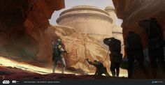 """ArtStation - ILM Challenge-The Moment: """"Coming back to claim the bounties"""", Miguel Iglesias"""