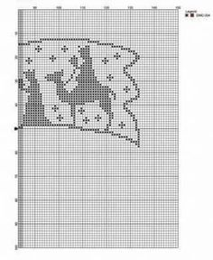 KUFER with artistic craft: knitting Christmas decorations Knitted Christmas Decorations, Christmas Crochet Patterns, Crochet Christmas Ornaments, Holiday Crochet, Christmas Embroidery, Christmas Knitting, Thread Crochet, Filet Crochet, Crochet Motif