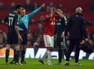 REAL MADRID 2, MANCHESTER UNITED 1 Flash of Red Leaves United Speechless