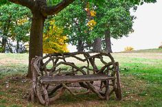 New print available on lanjee-chee.artistwebsites.com! - 'Bench Under The Tree' by Lanjee Chee - http://lanjee-chee.artistwebsites.com/featured/bench-under-the-tree-lanjee-chee.html