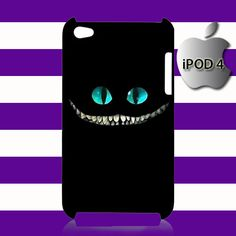 Alice Wonderland Cheshire Cat iPod 4 4g 4th Touch Case Cover