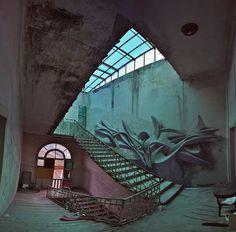 Visual Bits #409 > Freedom To Paint: Murals & Graffiti - The 3D Graffiti Of Peeta